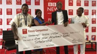 Izeowayi Victor àti awọn oṣiṣẹ BBC