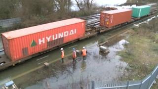 Hinksey flooding