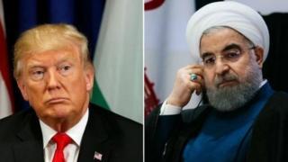 Trump da Rauhani