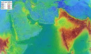 انڈیا فضا