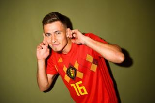 Thorgan Hazard of Belgium