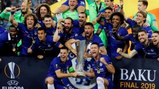 Chelsea ta lashe Europa