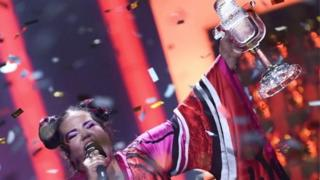 Netta Eurovison Şarkı yarışmasının geçen seneki kazananı