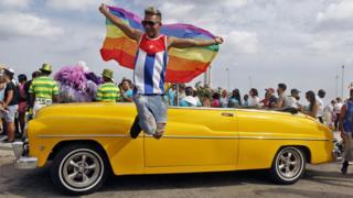 Гей-активист на Кубе