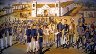 William Walker surrenders after the second battle of Rivas