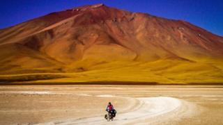 Ишбел на боливијском Алтиплану