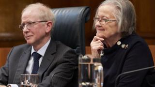 Lord Reed and Lady Hale