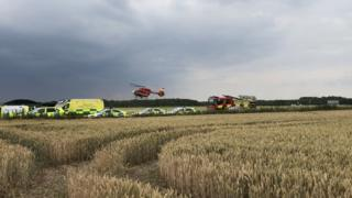 Emergency services in the field