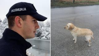 Policajac koji je spasio psa