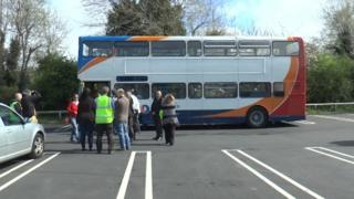 Former Stagecoach bus