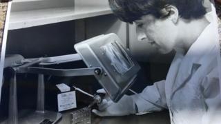 Dorothy Griggs at work