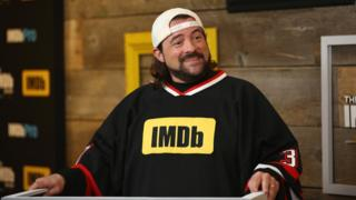 Host Kevin Smith attends The IMDb Studio