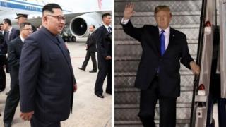 Hai vị lãnh đạo tới Singapore chỉ cách nhau vài giờ