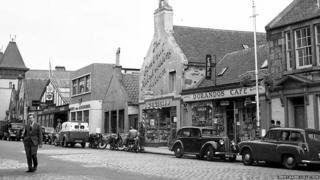 Sràid na h-Acadamaidh, 1956