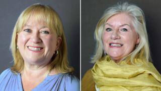 L-R: Councillor Karen Rampton and Councillor Lesley Dedman