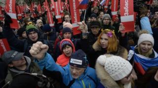 تظاهرات امروز بعد از هفتههای فشار بر روی طرفداران این رهبر مخالف در روسیه برگزار شده است