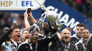Newcastle United win title