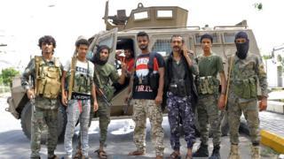 الإمارات دربت قوات المجلس الانتقالي وتدعمها