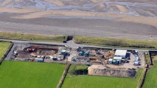 United Utilities' water clean-up facility