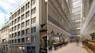 Artist impressions of the new hotel