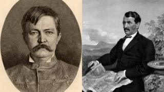 Welsh-american explorer Henry Stanley and Scottish missionary David Livingstone are at the centre of the naming row