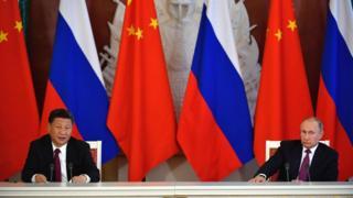 Putin ve Şi Jinping basın toplantısında