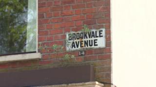Road sign for Brookvale Avenue