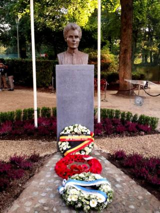 New memorial to Edith Cavell in Brussels