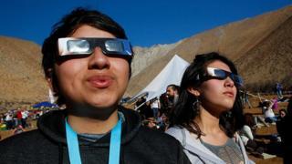 تماشای خورشیدگرفتگی در شمال شیلی