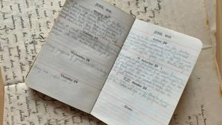 Diario de Leslie Thorpe