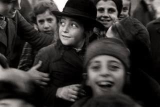 Jewish school children, Mukachevo, Ukraine, c. 1935-38.