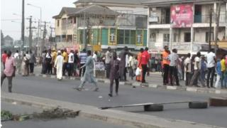 Hausa Community protest as one of dem die for Rivers Taskforce hand