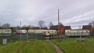 Leighton Arches Caravan Park in Welshpool