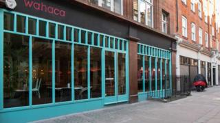 The Soho branch of Wahaca has been closed