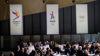Uluslararası Olimpiyat Komitesi toplantısı