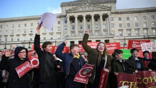Irish Language Act campaigners