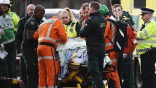напад біля парламенту в Лондоні