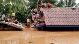 لاؤس سیلاب