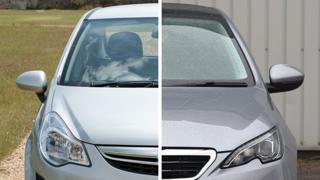 Silver vs grey car