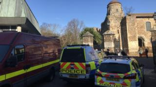 Police at Castle Park