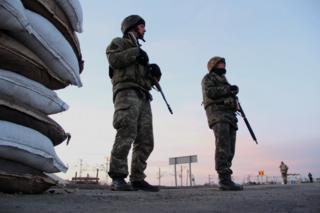 Чонгар знаходиться на кордоні із анексованим Кримом