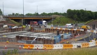 New A19/A1058 Coast Road junction