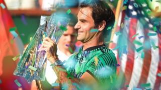 A 35 ans, le suisse gagne son 18e titre du Grand Chelem, à l'Open d'Australie.