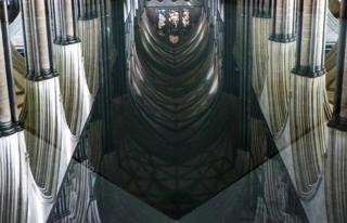 Reflection at Salisbury Cathedral