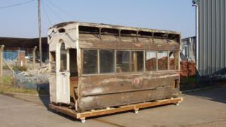 Cambridge tramcar number 7
