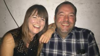 Helen Crowther and Andy Clewes