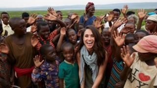Meghan Markle in Rwanda