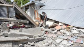 At least 10 killed in earthquake in Lombok, Indonesia