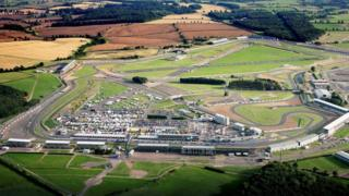 Silverstone from above.