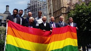 Flying the flag for LGBT rights - Parliament shows it solidarity